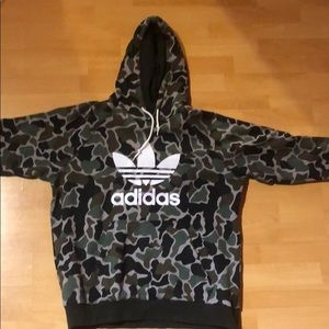 Other - Adidas Camouflage Pullover Hoodie